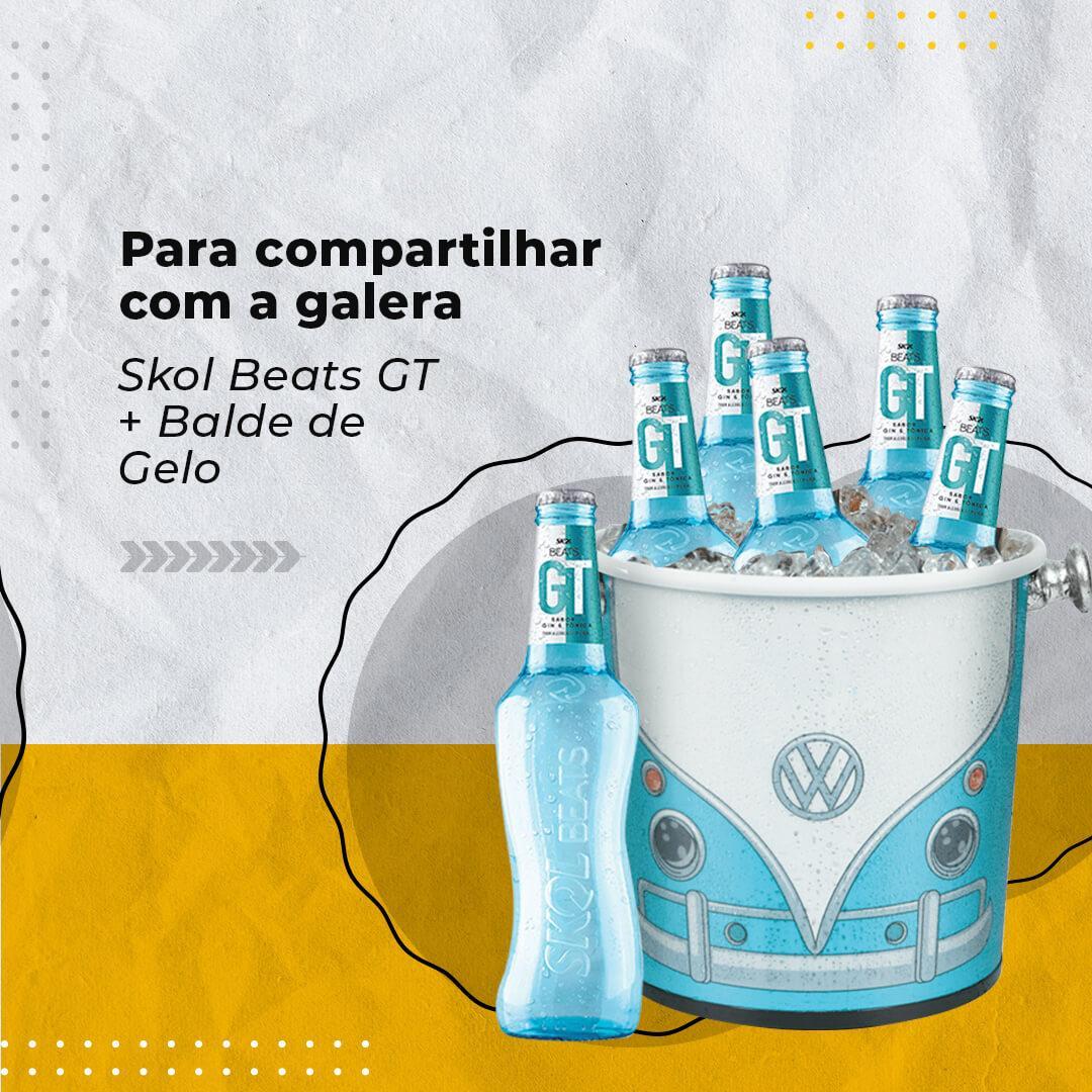 Skol Beats Gin&Tônica + Balde de gelo
